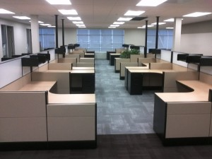 Used Herman Miller Cubicles in Fontana CA