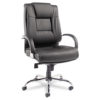Alera Ravino Big & Tall Series High-Back Swivel/Tilt Leather Chair