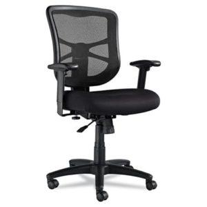 Alera Elusion Series Mesh Mid-Back Swivel/Tilt Chair