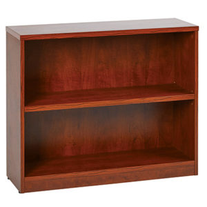 "2-Shelf Bookcase with 1"" Thick Shelves"