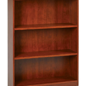 "3-Shelf Bookcase with 1"" Thick Shelves"