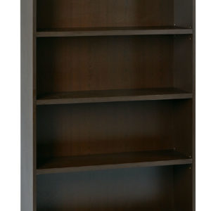 "4-Shelf Bookcase with 1"" Thick Shelves"