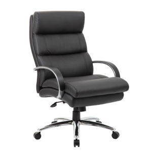 Boss Heavy Duty Plush Padded Executive Chair
