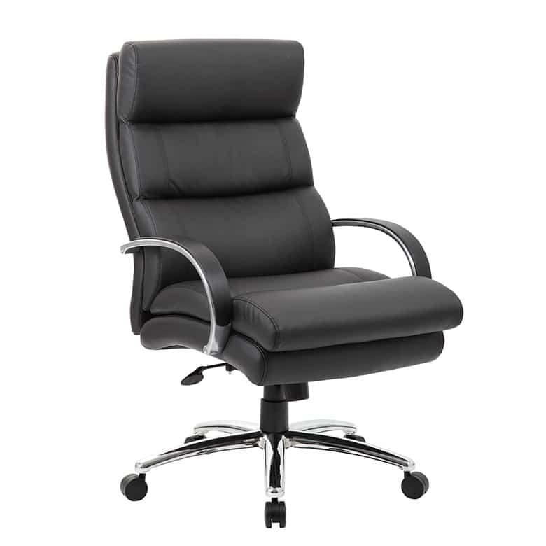 Boss Heavy Duty Plush Padded Executive Chair Pnp Office