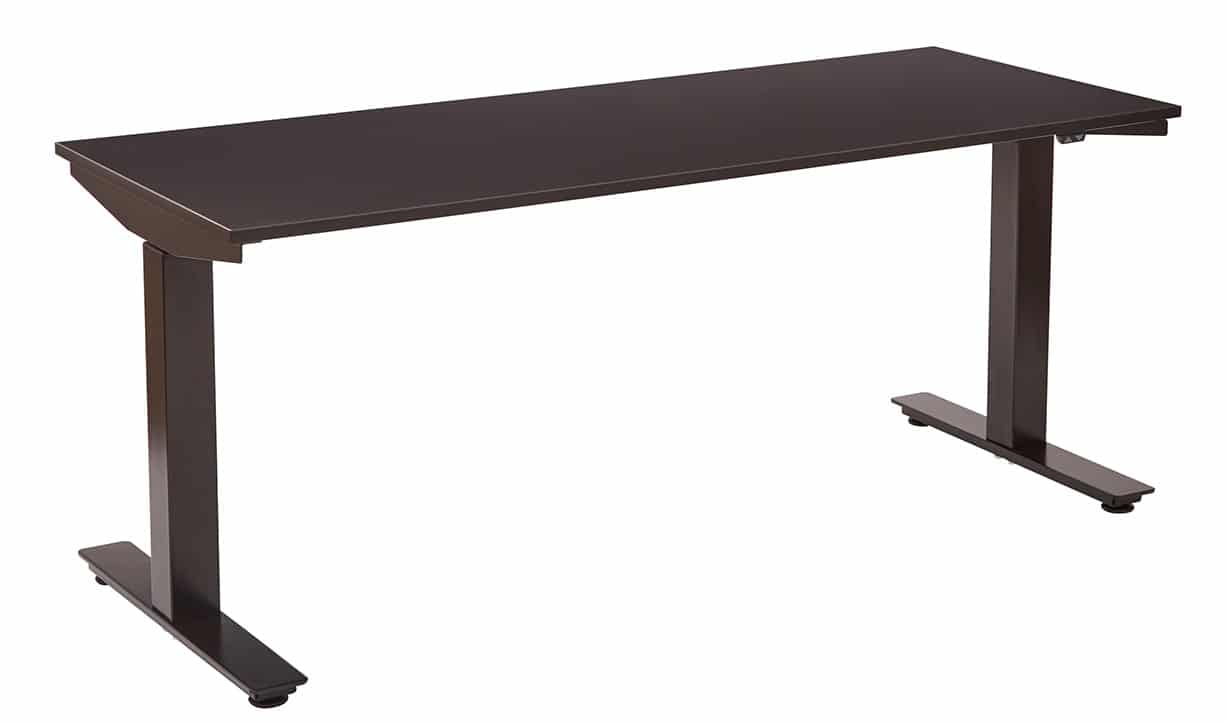 24 Quot X 60 Quot Ascend Electric Adjustable Height Table Desk