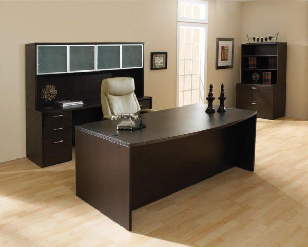 Napa Bow Front Desk