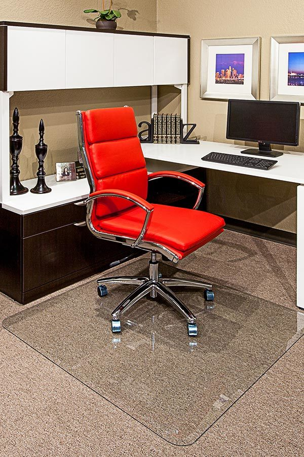 New Glass Chair Mats