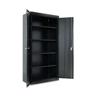 "Assembled 72"" High Storage Cabinet, w/Adjustable Shelves"