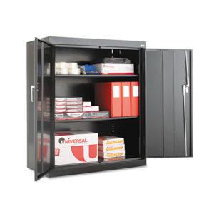 """Assembled 42"""" High Storage Cabinet, w/Adjustable Shelves"""