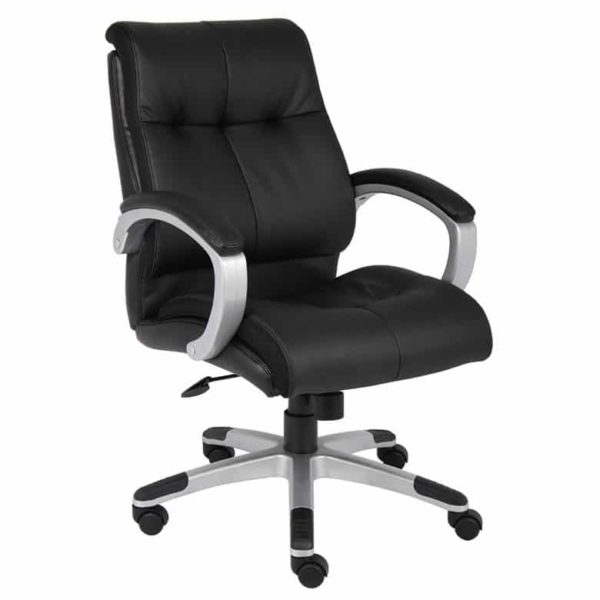 Boss Double Plush Mid Back Executive Chair