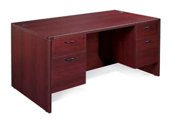 "NAPA DOUBLE PEDESTAL DESK 60""X30"""