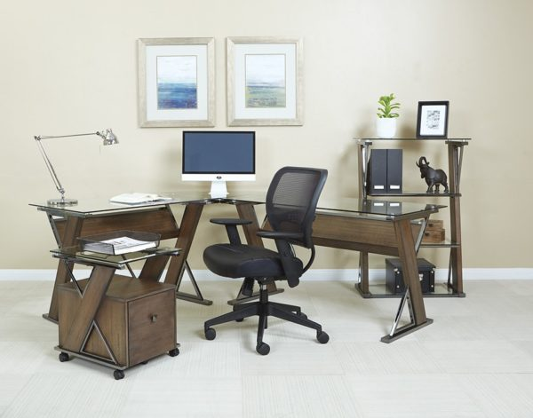 PROFESSIONAL DARK AIRGRID MANAGERS CHAIR