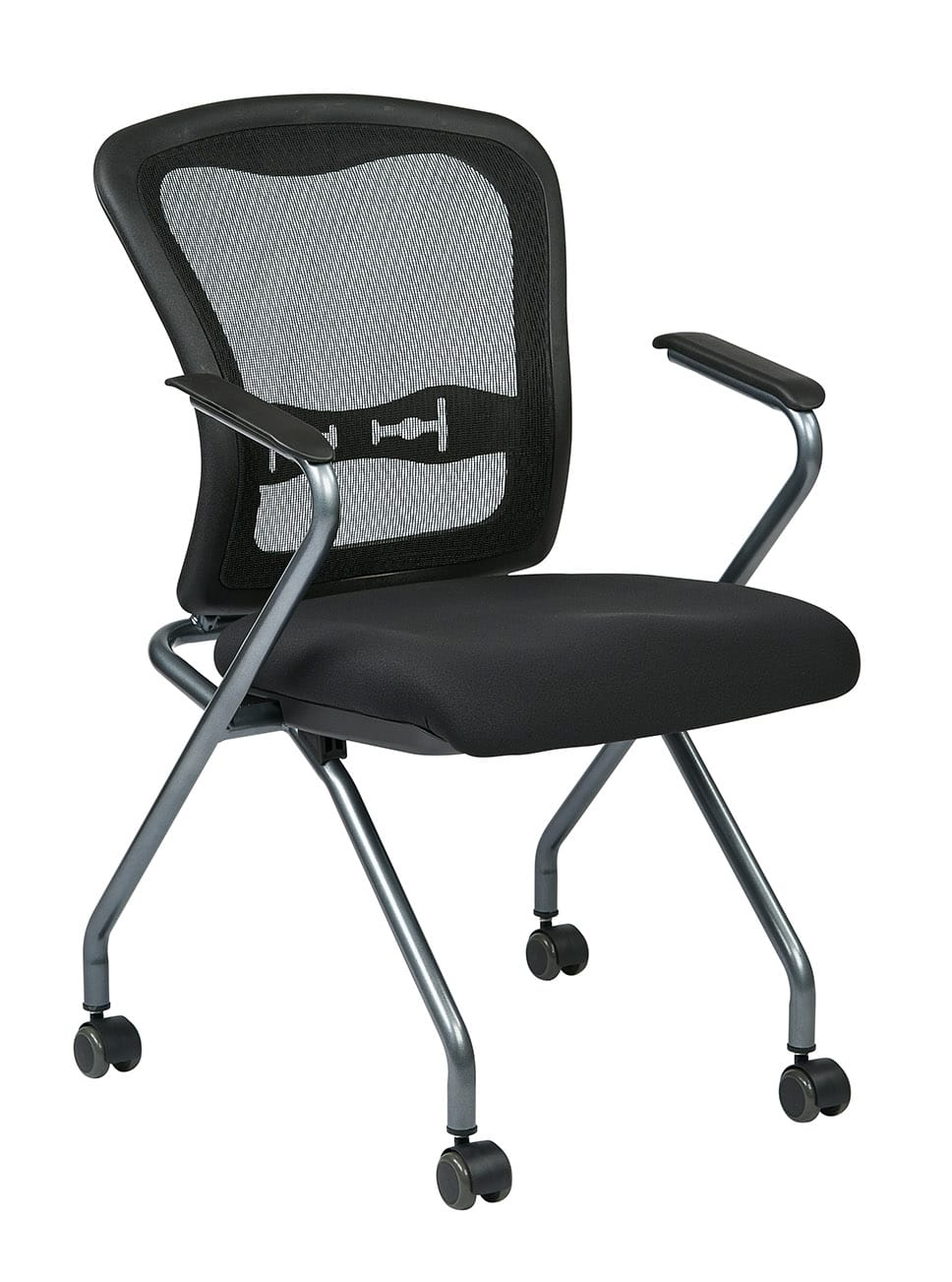 Deluxe Folding Chair With Progrid 174 Back Pnp Office Furniture
