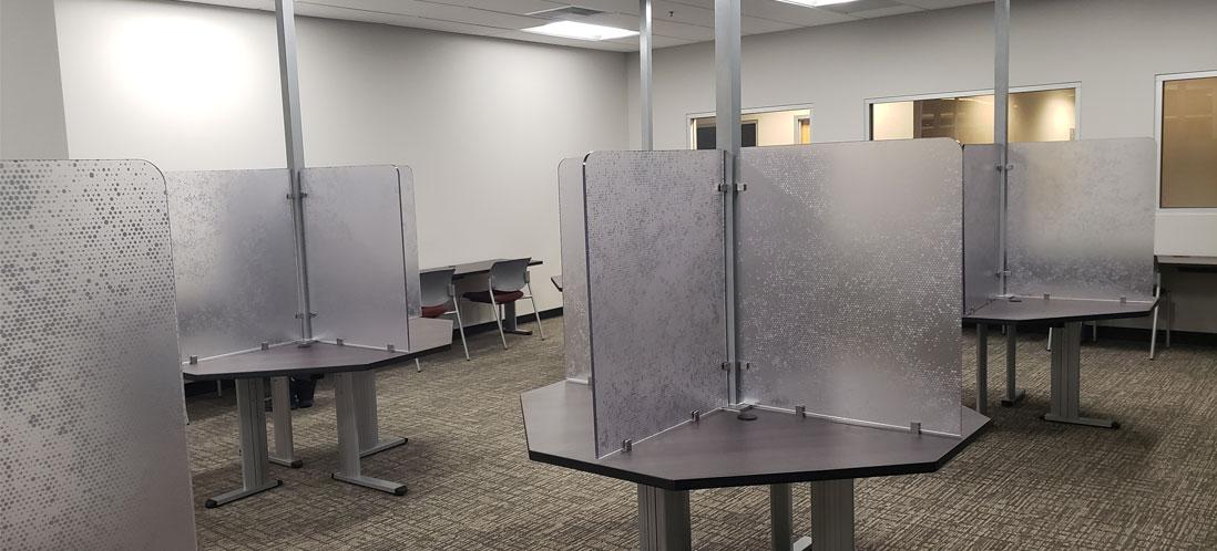 University of Redlands computer lab